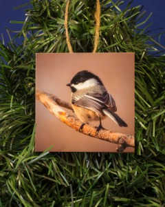 Chickadee Ornament