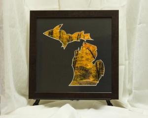 Michigan Framed Art - Michigan Autumn