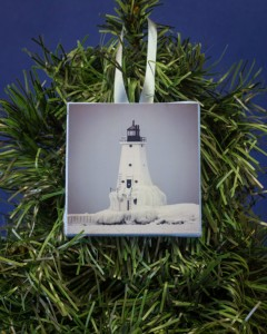 Ludginton Lighthouse Christmas Ornament